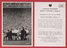 West Germany v Spain 1952 Walter Kaiserslautern D44